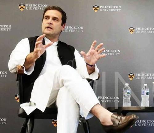 印度国大党主席拉胡尔?甘地