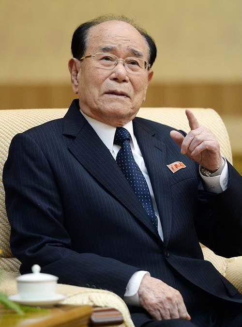 朝鲜最高人民会议常任委员会委员长金永