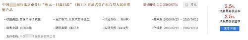 中国理财网查询结果