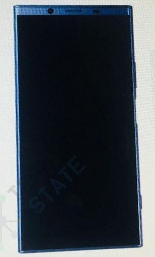 索尼Xeria XZ2手机外观曝光 明年年初重量级旗舰|索尼|