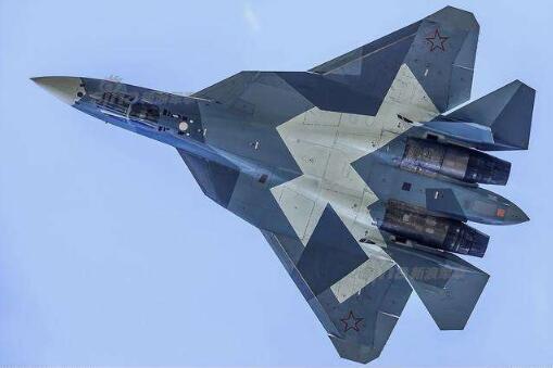 俄罗斯防长表示,苏-57确实曾进入叙利亚,但只停留2天。(资料图)