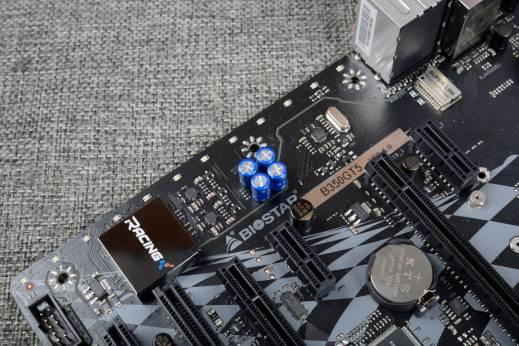 映泰b350gt5主板使用了暴龙专用游戏网卡,配合fly.