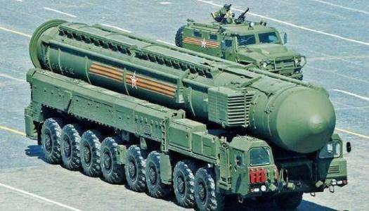 """图为俄罗斯""""萨尔马特""""洲际弹道导弹"""
