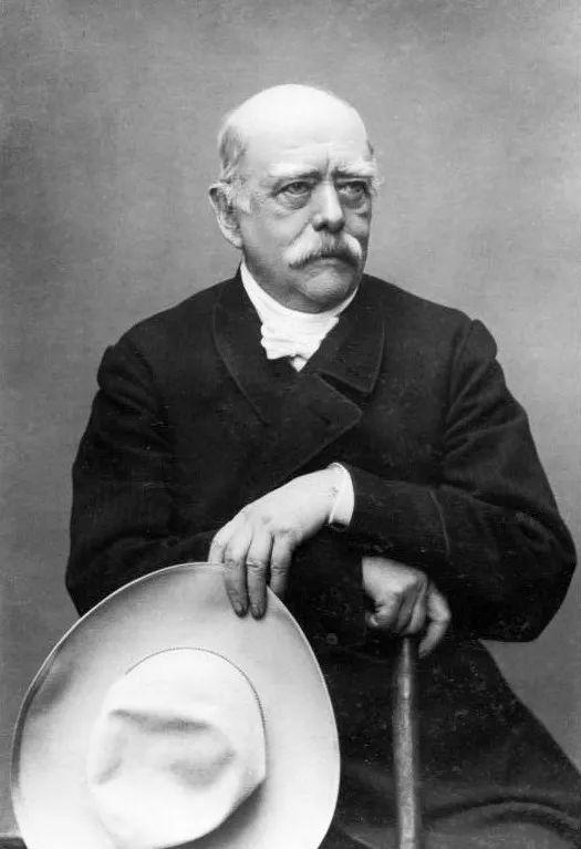 ▲1881年的俾斯麦(维基百科)
