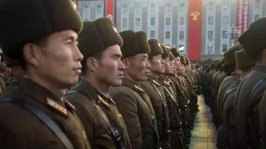 ▲资料图片:参加阅兵式的朝鲜士兵(法新社)