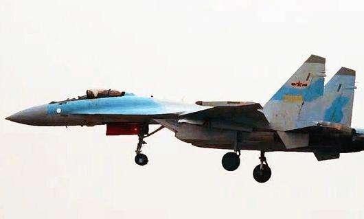 图为苏-35战斗机