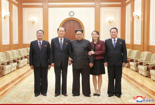金正恩12日会见访韩高级代表团成员