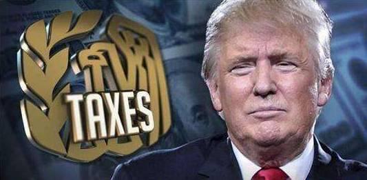 ▲税改法案:特朗普最大的政绩。
