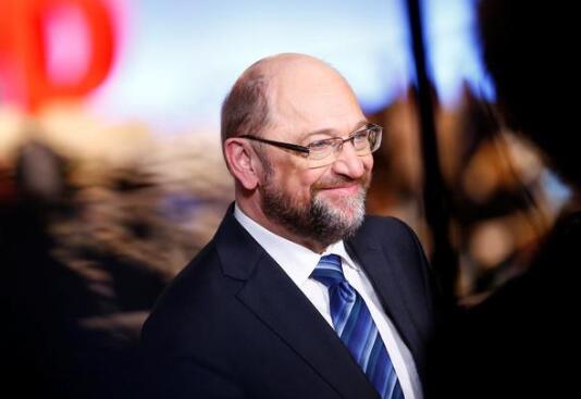 社民党主席舒尔茨(图源:路透社)