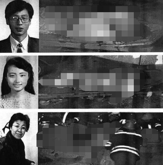 """▲图为当年被美国""""误炸""""而牺牲在大使馆的三名中国记者"""