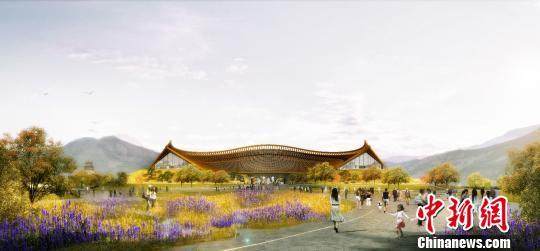 图为中国馆效果图。北京世园局供图