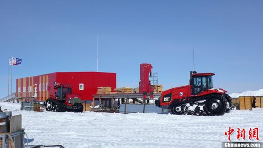 中国南极昆仑站。阮煜琳 摄