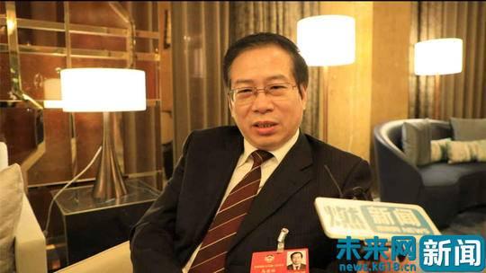 全国政协委员、河南博物院院长马萧林 未来网阎康宁摄