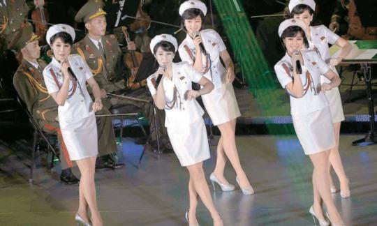 朝韩再次举行会谈 牡丹峰乐团团长玄松月参加图片