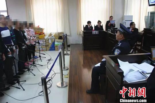 图为庭审现场 达拉特旗检察院供图