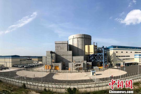 图为昌江核电厂。 洪坚鹏 摄