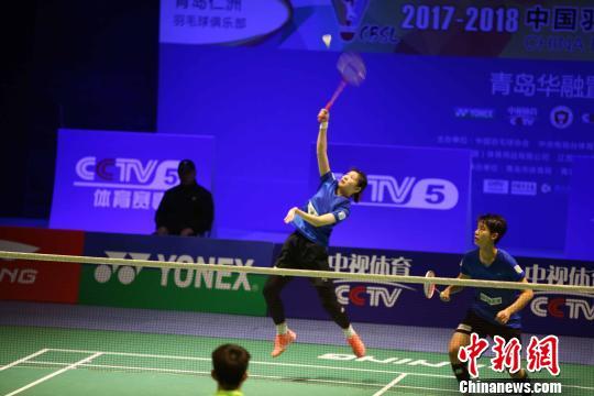 奥运冠军林丹率青岛队全胜领跑中国羽超