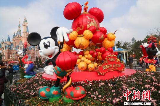 上海迪士尼度假区喜迎狗年新春 供图