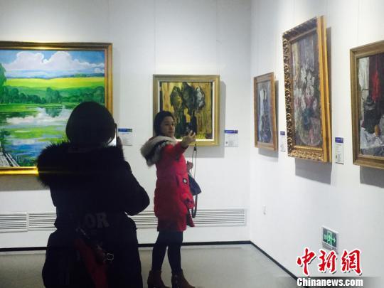 200余幅俄罗斯艺术品黑龙江展出 绘中国北