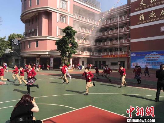 广州200万中小学生开学 安全教育成第一课