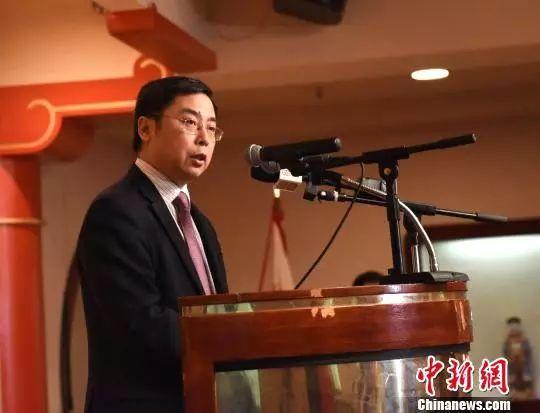 ▲中国驻美公使李克新