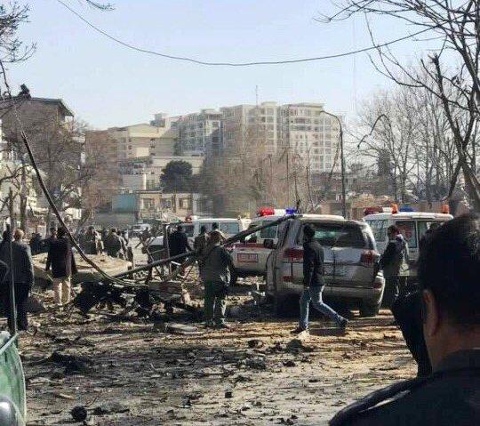阿富汗自杀式爆炸袭击已致95人死亡158人受伤