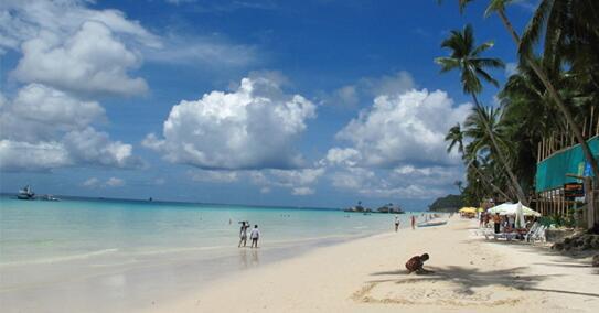 这个号称全亚洲最美白沙滩 被杜特尔特称