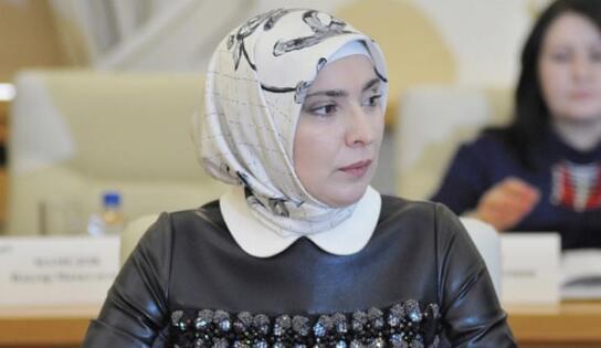 俄穆斯林女性加姆扎托娃正式成总统候选人。(图源:《半岛电视台》)