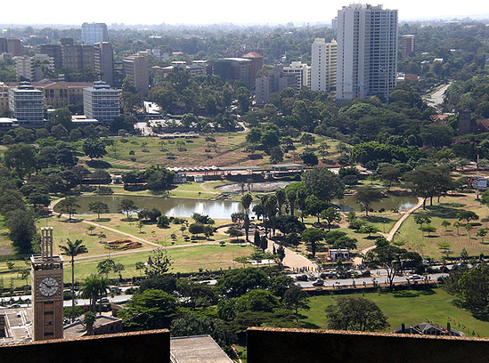 内罗毕市区(网络资料图)
