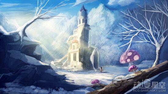 北方人的特权 冬天的雪景在动漫中什么样