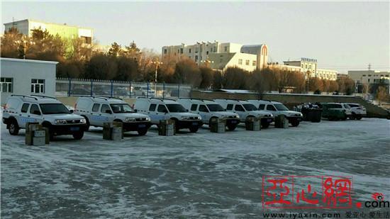 新疆和布克赛尔县:举行基层医疗卫生服务车发放仪式