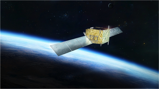 悟空号卫星示意图。中科院供图