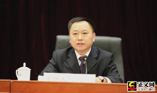 全国人大代表、安徽省省长李国英。闫晶晶 摄