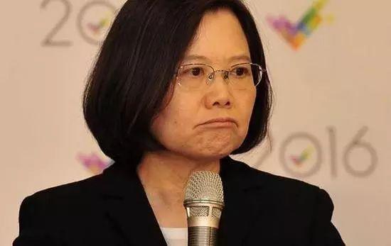 ▲台湾地区领导人蔡英文(台湾中时电子报)