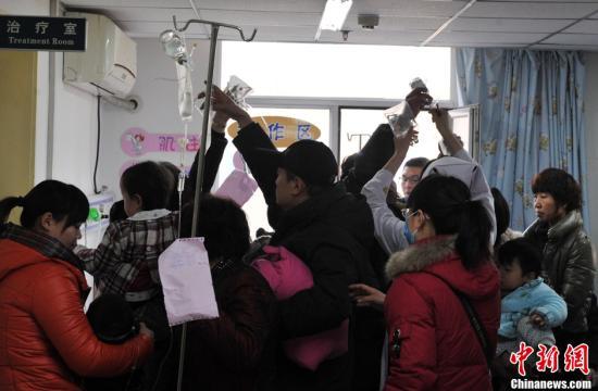 中国内地1月报告法定传染病82万余例