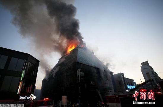 韩堤川火灾事件相关建筑物主人被逮捕 押送收容所