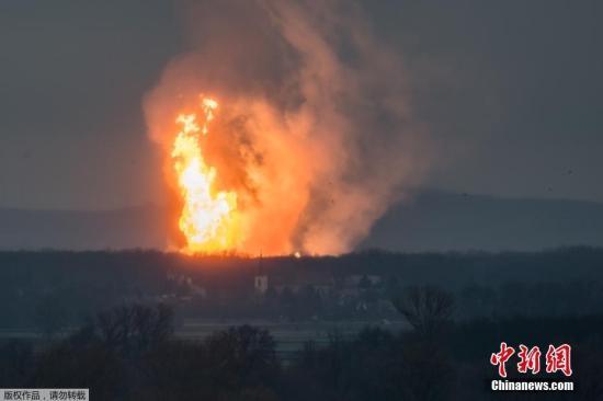 当地时间12月12日,奥地利鲍姆加腾一座大型天然气站发生爆炸,数人受伤。