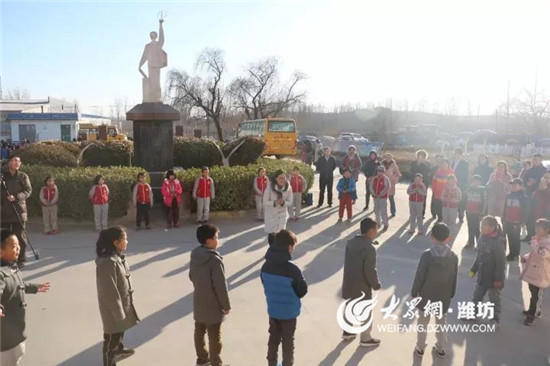 潍坊高新国际学校走进昌乐北展学校
