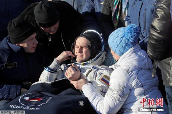 """国际空间站宇航员搭载"""""""