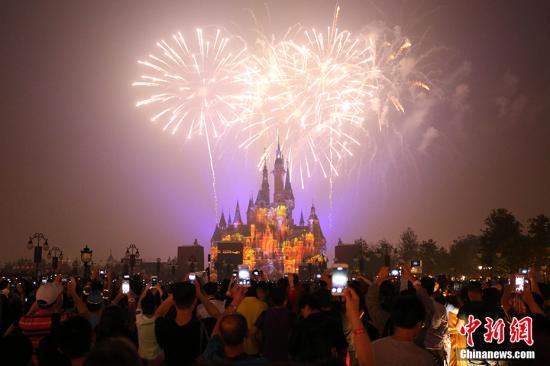 资料图:迪士尼。中新社记者 张亨伟 摄