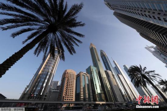 当地时间2018年2月11日,阿联酋迪拜,75层356米高的The Gevora酒店当日开业。