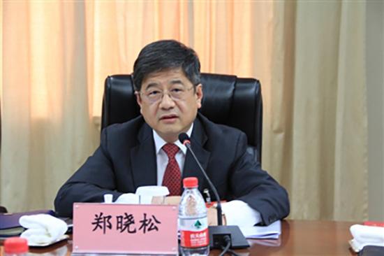 全国人大代表、澳门中联办主任郑晓松。人民法院报 图