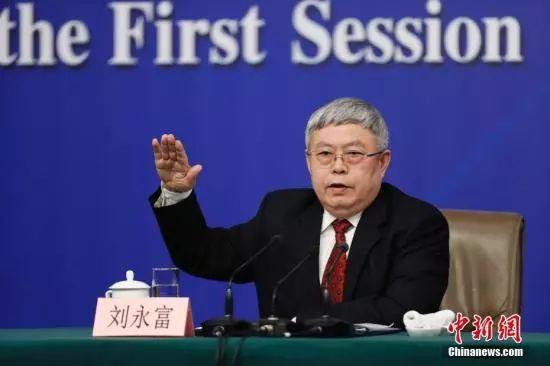 国务院扶贫办主任刘永富。 中新社记者 杜洋 摄