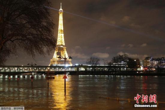 资料图:巴黎埃菲尔铁塔。