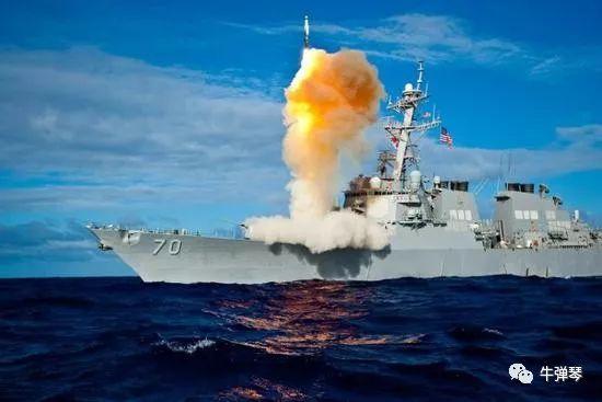 """美国海军""""霍珀""""号导弹驱逐舰。"""