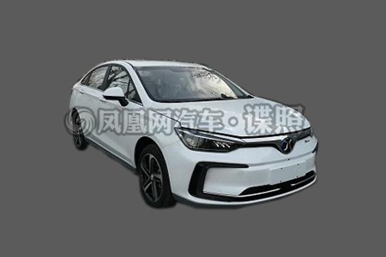 北汽新能源EU5申报图曝光 北京车展正式亮相