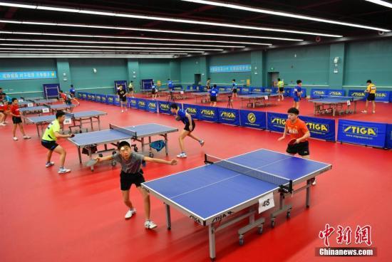 资料图:乒乓球比赛。中新社记者 翟羽佳 摄