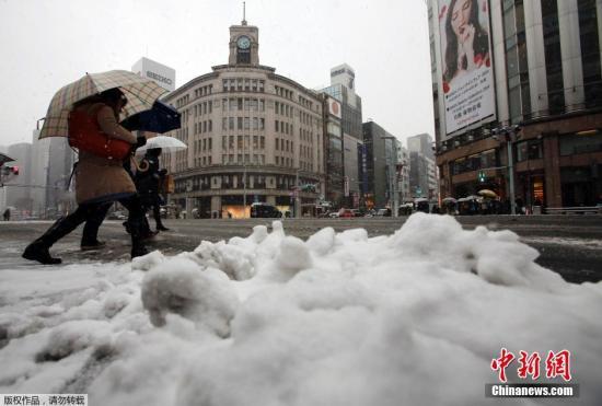 日本海沿岸地区或降下暴雪 局地积雪可达60厘米