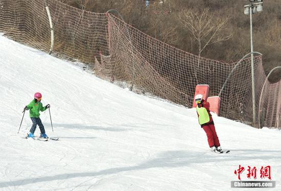 资料图:冰雪运动 中新网记者 翟璐 摄