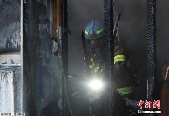 韩密阳市医院火灾死亡人数增至39人 151人受伤
